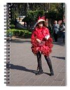 Coyoacanense Zocalo Spiral Notebook