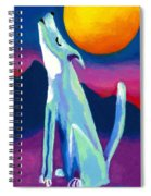 Coyote Azul Spiral Notebook