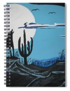 Coyote Spiral Notebook
