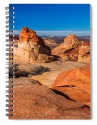 Coyote Lines Spiral Notebook