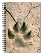 Coyote Print Spiral Notebook