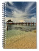 Cozumel Beach Paradise Spiral Notebook