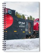 Cp Rail Plow Spiral Notebook