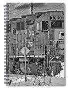 Cp Rail Train Bwtr9099-12 Spiral Notebook