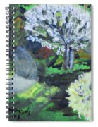 Crab Apple Tree Spiral Notebook