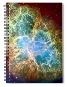 Crab Nebula Spiral Notebook