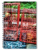 Crab Pots Spiral Notebook