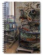 Crab Pots Spiral Notebook
