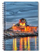 Crab Shack Seafood Restaurant Spiral Notebook