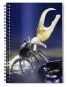 Crab Star Spiral Notebook