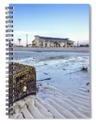 Crab Trap Washed Ashore Spiral Notebook