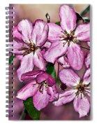 Crabapple Blossom Spiral Notebook