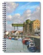 Crabbing - Wells-next-the-sea Norfolk Spiral Notebook
