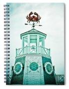 Crabby Weathervane Spiral Notebook