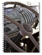 Cracked And Faded Spiral Notebook