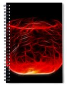 Cracked Glass Spiral Notebook