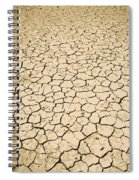 Cracked Ground Spiral Notebook