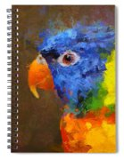 Crackers Spiral Notebook