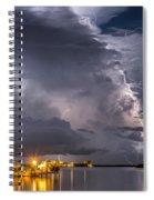Crackling Spiral Notebook