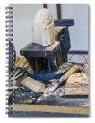 Craftsman Work Table Spiral Notebook