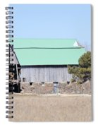 Craggy Old Barn Spiral Notebook