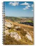 Crags Over Rothbury Spiral Notebook