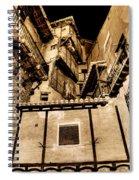Crammed Floors In Albarracin Spiral Notebook