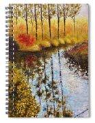 Cranberry Bog Spiral Notebook