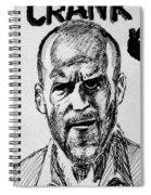 Jason Statham Spiral Notebook