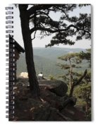 Cranny Crow Overlook At Lost River State Park Spiral Notebook