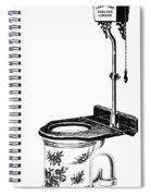 Crapper Toilet, 1890s Spiral Notebook