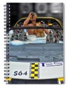 Crash Dummy Bear Spiral Notebook