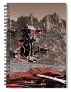Crash Site Located Spiral Notebook