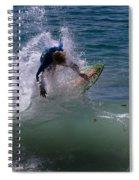 Wave Crashing Spiral Notebook