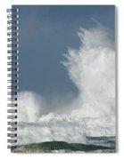 Crashing Surf Spiral Notebook