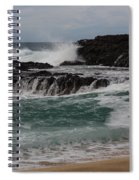 Crashing Surf Spiral Notebook