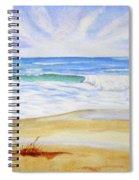Crashing Wave Spiral Notebook