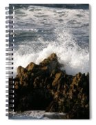 Crashing Wave Spiral Notebook