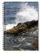Crashing Waves - Rhode Island Spiral Notebook