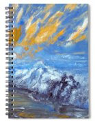 Crashing Waves Spiral Notebook