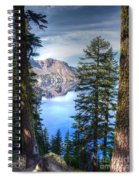 Crater Lake 1 Spiral Notebook