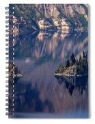 Crater Lake 2 Spiral Notebook