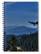 Crater Lake 3 Spiral Notebook