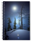 Crater Lake Midnight Oregon Spiral Notebook