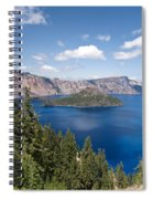 Crater Lake National Park Spiral Notebook