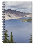 Crater Lake Or 10 Spiral Notebook