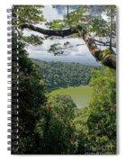 craterlake in Montagne d'Ambre National Park Madagascar Spiral Notebook