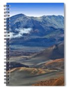 Craters And Cones Spiral Notebook
