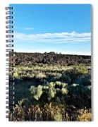 Craters Of The Moon 3 Spiral Notebook