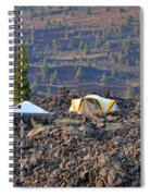 Craters Of The Moon Spiral Notebook